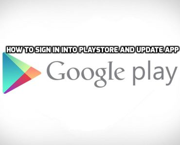 sign in into playstore, sign in into playstore and update app