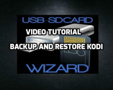 Backup all kodi data