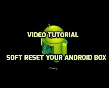 factory reset Android Box