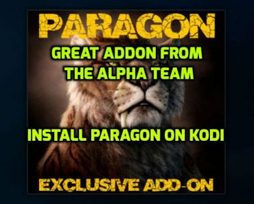 Install Paragon Addon from The Alpha