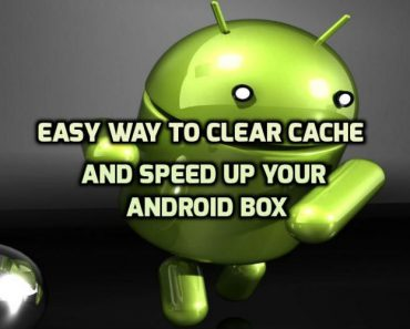 Clear data on Android Box