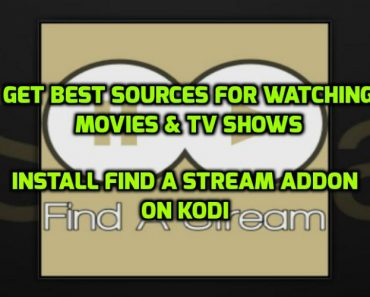 Find A Stream Addon