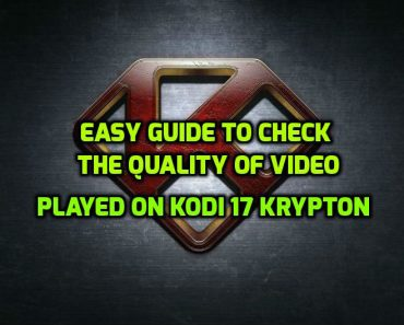 Video Quality on Kodi 17 krypton