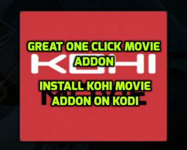 Kohi Movie Addon Kod