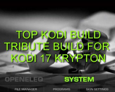 Tribute Build wizard Kodi