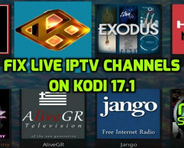 Fix IPTV on Kodi 17.1