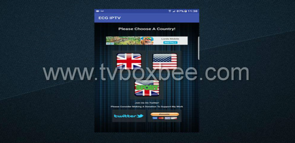 guide to install iptv app free uk usa iptv channels
