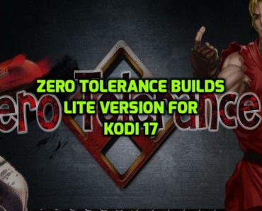 Zero Tolerance Builds Kodi