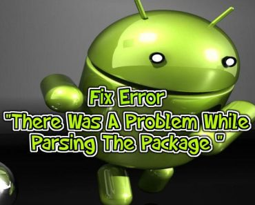 fix Parse Error on Android device