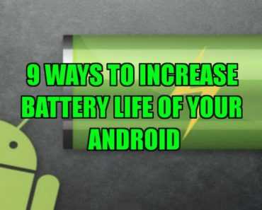 increase battery life of android