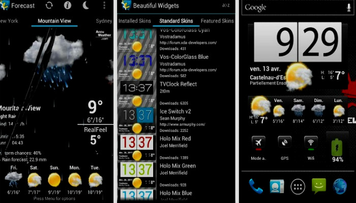 Creating Customized Widgets, customized android widget