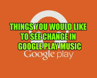 see changes in Google Play Music