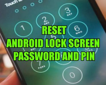 unlock Android Lock Screen Password And PIN