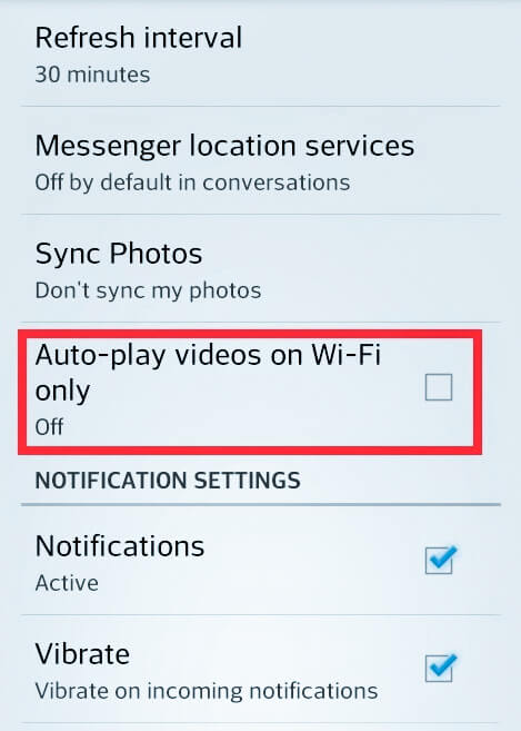 Stop videos from auto playing on facebook, how to stop videos from autoplaying on facebook