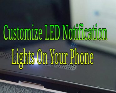 custmoize led notification lights on your phone, change led notification color on your phone