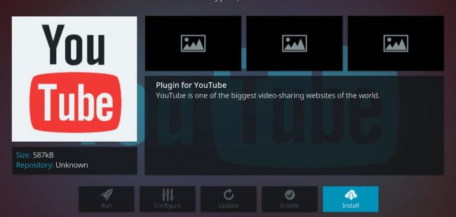 youtube, youtube addon, kodi addon youtube, install youtube addon on kodi