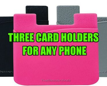 Three Card Holders for Any Phone