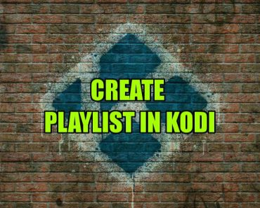 Playlist for Kodi