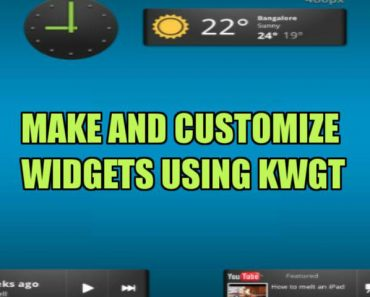 Make and customize Widgets