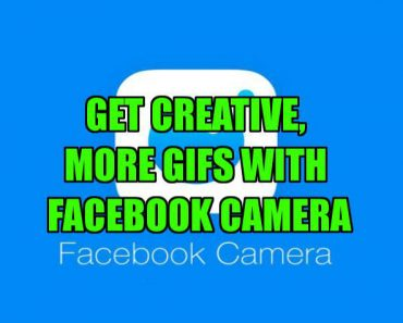 Facebook Camera features