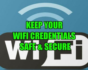 how to secure your wifi connection