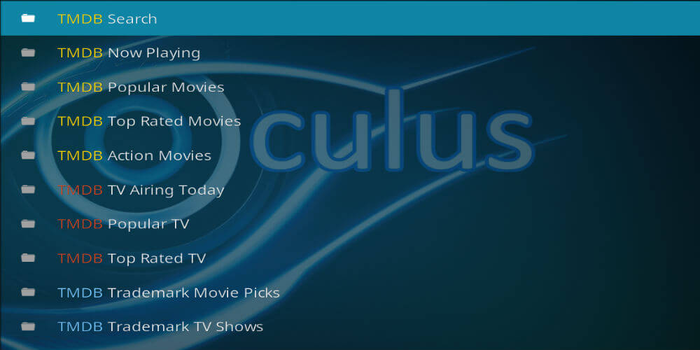 Oculus Addon for Kodi