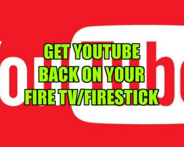 install Youtube App on your Fire TV and Firestick
